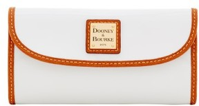Dooney & Bourke Patent Continental Clutch Wallet - CALYPSO NATURAL - STYLE