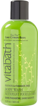 Vitabath Lime Citron Basil Body Wash