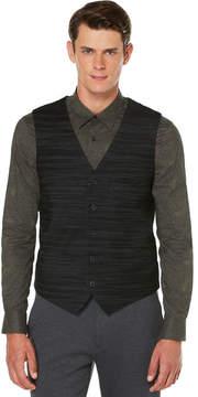 Perry Ellis Slim Fit Textured Stripe Suit Vest