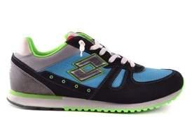 Lotto Leggenda Men's Multicolor Fabric Sneakers.