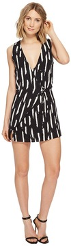 Brigitte Bailey Tyra Sleeveless Wrap Dress Women's Dress