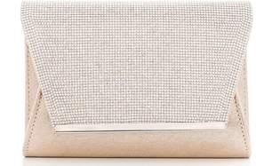 *Quiz Gold Shimmer Envelope Bag