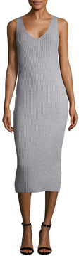 Finders Keepers Women's Prime Time Ribbed Sheath Dress