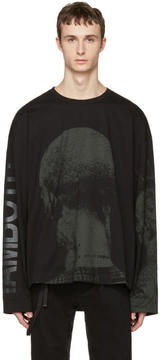 Juun.J Black Graphic T-Shirt