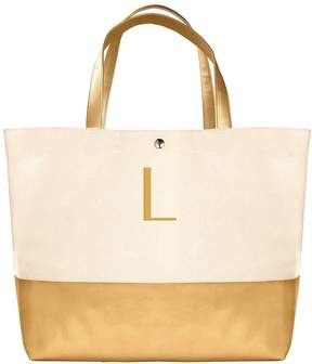 Cathy's Concepts Monogram Canvas Tote
