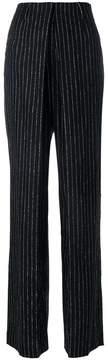 Aalto pinstripe high-waisted trousers