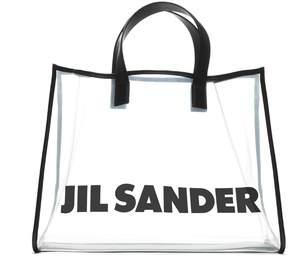 Jil Sander Logo Shopper Bag