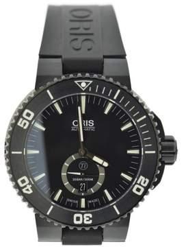 Oris Aquis Ttitan 7674 Black Titanium & Rubber Automatic 46mm Mens Watch