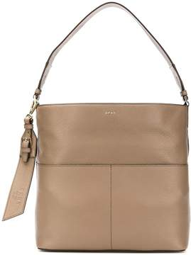 DKNY Essex Leather Satchel Bag
