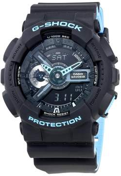 Casio G-Shock Black Dial Men's Multifunction Two Tone Watch