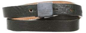 Golden Goose Deluxe Brand Thin Leather Belt