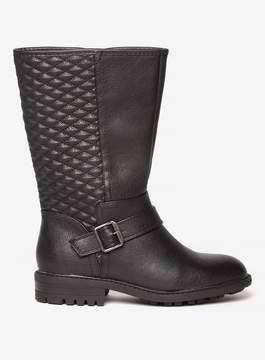 Dorothy Perkins Black 'Tiffany' Biker Boots