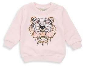 Kenzo Baby Girl's Embroidered Cotton Sweatshirt