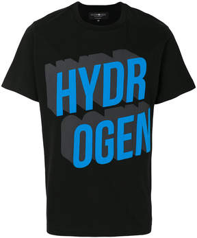 Hydrogen short sleeved logoed T-shirt