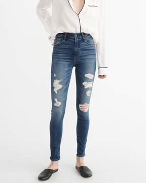 Abercrombie & Fitch High-Rise Super Skinny Jeans