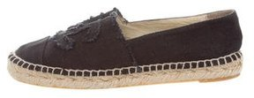 Chanel Canvas Espadrille Flats