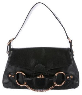 Gucci Leather Horsebit Hobo - BLACK - STYLE