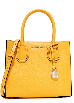 MICHAEL Michael Kors Mini Mercer Tote - SUNFLOWER - STYLE