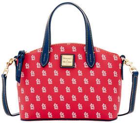 Dooney & Bourke St. Louis Cardinals Ruby Mini Crossbody Satchel - RED/NAVY - STYLE
