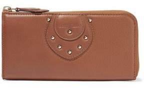 See by Chloe Janis Stud-Embellished Leather Wallet
