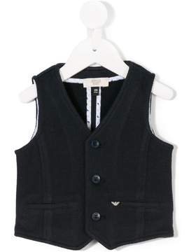 Emporio Armani Kids knitted waistcoat