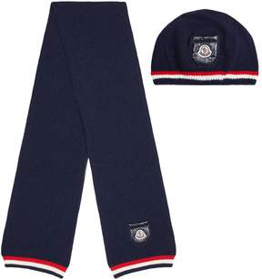 Moncler Hat And Scarf Gift Set