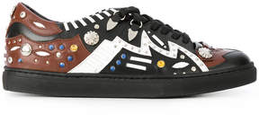 Toga Pulla studded lace up trainers