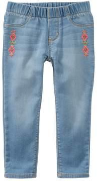 Osh Kosh Oshkosh Bgosh Girls 4-8 Embroidered Jeggings