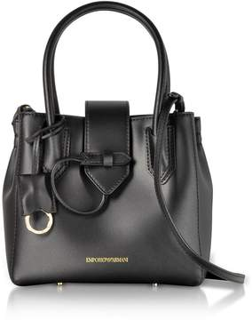 Emporio Armani Genuine Leather Satchel Bag