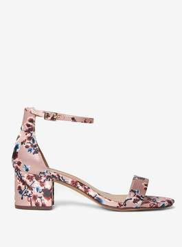Dorothy Perkins Pink Floral Print 'Saint' Sandals