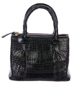 Nancy Gonzalez Mini Crocodile Tote