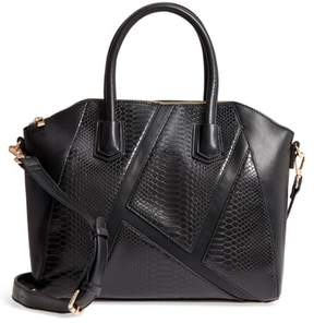 Sole Society Chase Faux Leather Satchel