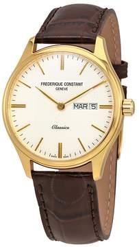 Frederique Constant Classics Quartz Silver Colored Dial Day/Date Men's Watch