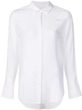 Equipment traditional collar flared sleeve shirt