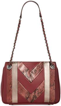 INC International Concepts I.n.c. Averry Patchwork Shoulder Bag