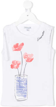 Simonetta floral print tank top