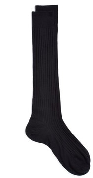Pantherella Men's Merino Wool Blend Over-The-Knee Socks