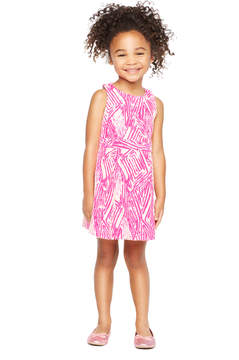 Milly MINIS SCRIBBLE JACQUARD RACERBACK DRESS