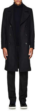 Paul Smith Men's Wool-Blend Double-Breasted Topcoat