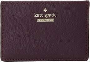 Kate Spade Cameron Street Card Holder Wallet - DEEP PLUM - STYLE