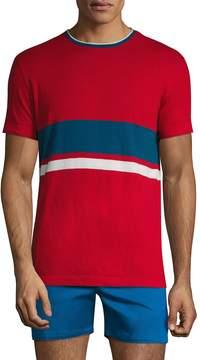 Parke & Ronen Men's Cotton Crewneck T-Shirt