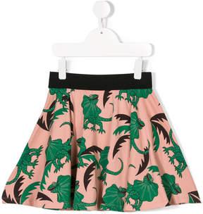 Mini Rodini lizard print skirt