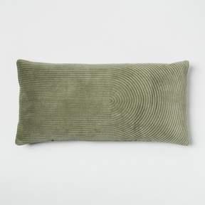 Quilted Velvet Lumbar