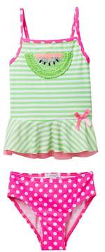 Flapdoodles Watermelon 2-Piece Swimsuit (Little Girls)