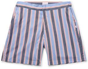 Derek Rose Bali 2 Slim-Fit Mid-Length Printed Swim Shorts