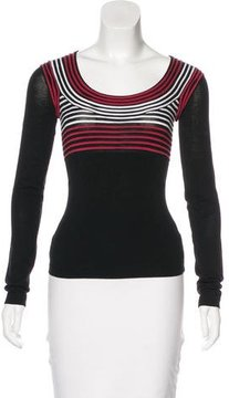 Armani Exchange Long Sleeve Knit Top