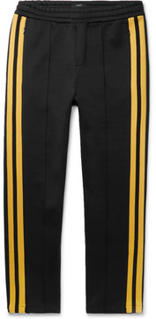 Joseph Striped Scuba-Jersey Sweatpants