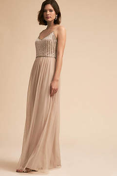 Anthropologie Laurent Wedding Guest Dress