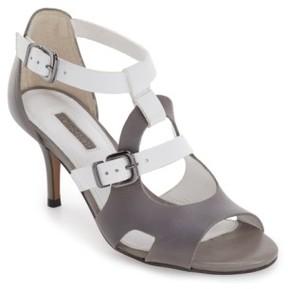 Topshop Women's 'Needle' Cutout Buckle Sandal