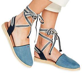 ED Ellen Degeneres Ankle Tie Espadrilles -Lourana